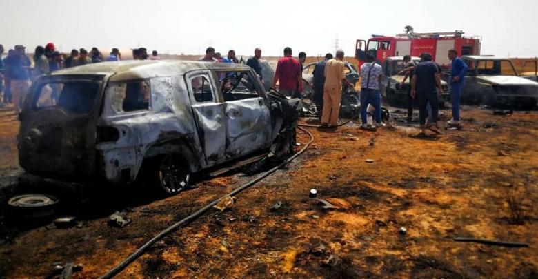 الرئاسي يدين التفجير الإرهابي في بنغازي