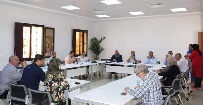 طرابلس المركز تعقد اجتماعها المُوسّع لمناقشة ملف النفايات الطبية