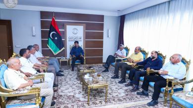 Photo of اجتماع رؤوساء اللجان بالمجلس الأعلى للدولة