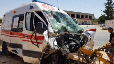 مركز الطب الميداني والدعم: الطاقم الطبي تعرّض لحادث سير