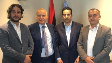 لقاء غسان سلامة في تونس مع ثلاثة برلمانيين ليبيين