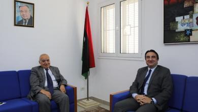 غسان سلامة يلتقي السفير التركي لدى ليبيا