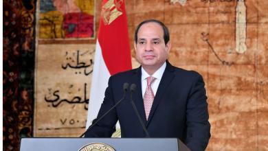 Photo of السيسي يجدد دعمه للجيش الوطني بمحاربة الإرهاب