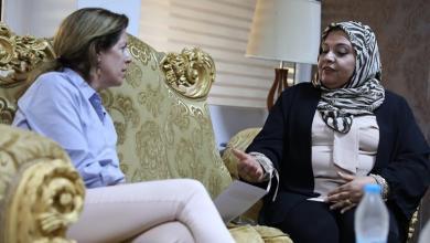 Photo of ستيفاني تُؤكد على دور الليبيات في العملية السياسية