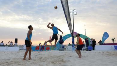 Photo of ليبيا تشارك بدورة الصداقة لكرة الطائرة الشاطئية