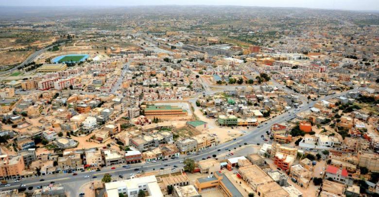 """منظر عام لمدينة غريان الليبية - """"أرشيفية"""""""