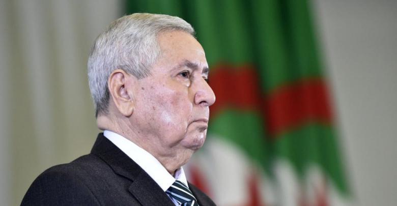 الرئيس الجزائري المؤقت عبدالقادر بن صالح