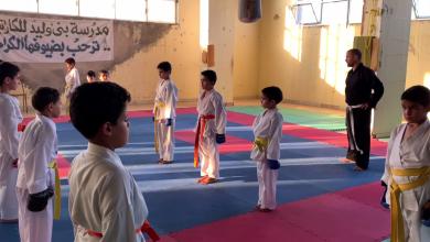 Photo of مدرسة الكاراتيه في بني وليد تشهد إقبالا لافتا