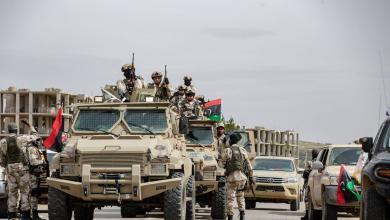 """وحدة من الجيش الوطني التي تخوض عملياتها في طرابلس - """"صورة أرشيفية"""""""