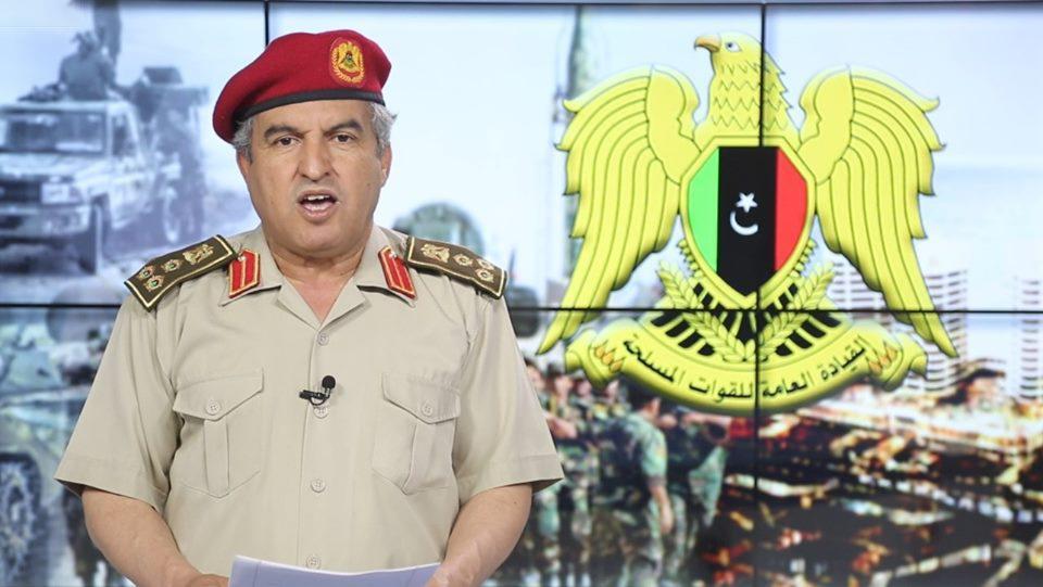 مدير التوجيه المعنوي العميد خالد المحجوب