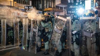 "Photo of ""توتر شديد"" في هونغ كونغ مع تواصل الاحتجاجات"
