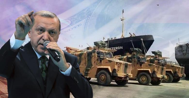 المدرعات التركية - رجب طيب أردوغان