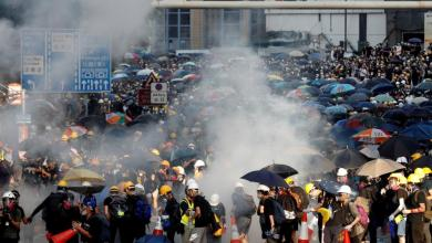 Photo of الاحتجاجات تشتعل في هونغ كونغ ضد قانون الأمن الصيني