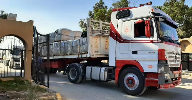 شحنة مواد كيماوية - شركة الجوف للتقنية النفطية