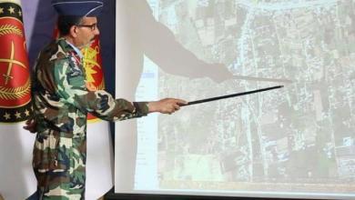 المتحدث باسم قوات الوفاق محمد قنونو- صورة إرشيفية
