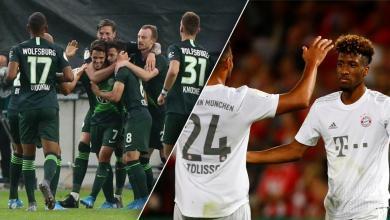 صورة انتصار صعب للبافاري وفولفسبورغ في كأس ألمانيا