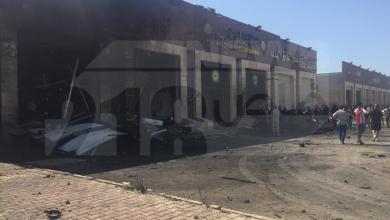 Photo of انفجار سيارة مُفخخة بمنطقة الهواري في بنغازي