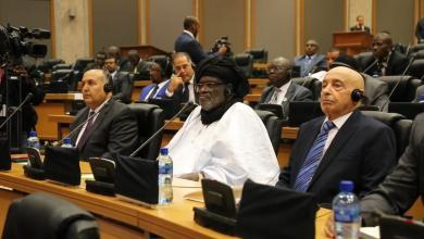 رئيس مجلس النواب المستشار عقيلة صالح - الاتحاد الأفريقي
