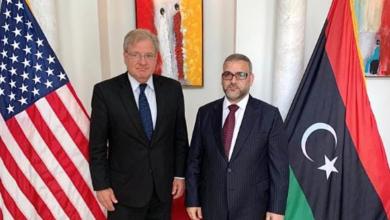 Photo of المشري يلتقي السفير الأمريكي الجديد في ليبيا