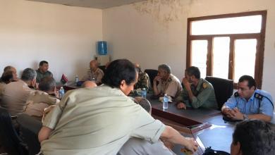 "Photo of ""عمليات"" صبراتة ومديرية باطن الجبل تؤيدان الجيش الوطني"