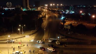 """صورة تحركات أمنية كبيرة ببنغازي بعد """"تفجير الهواري"""""""