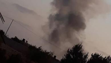Photo of الجيش يقصف مستودعات بمطار زوارة وابوكماش