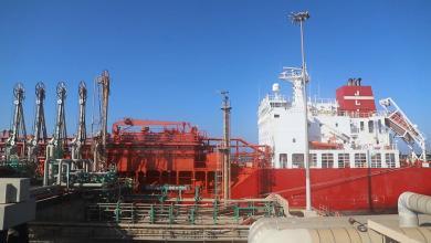 استقبال ناقلة محملة بغاز الإيثيلين - ميناء رأس لانوف