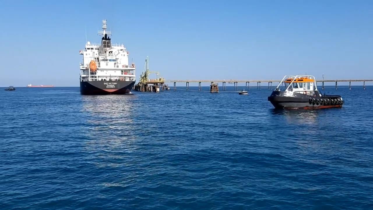 ناقلة النفط غاز فكتوريا