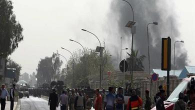 صورة قتلى وجرحى بهجوم على ملعب في كركوك العراقية