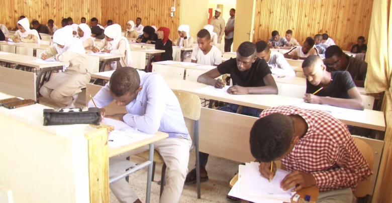 كلية التربية في مدينة تراغن تستضيف امتحانات الشهادة الثانوية على مستوى البلدية