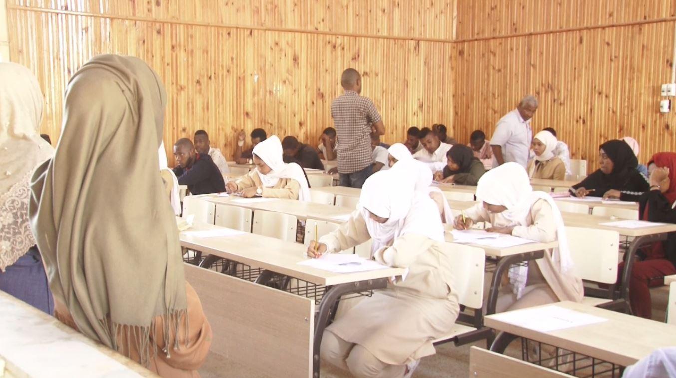 كلية التربية تراغن تستضيف امتحانات الشهادة الثانوية أدبي وعلمي