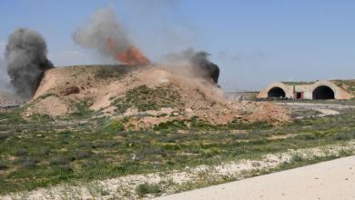 مطار الشعيرات السوري