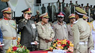القيادة العامة للجيش الوطني- توكرة- الصورة إرشيفية