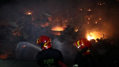 Photo of حريق هائل يُدمّر 15 ألف منزل في بنغلاديش