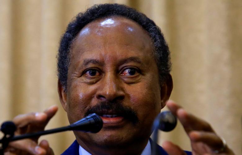 رئيس الوزراء المكلف في السودان عبدالله حمدوك