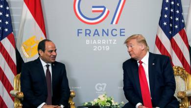 Photo of الملف الليبي يجمع ترامب والسيسي