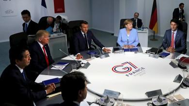 صورة اجتماعات ثنائية ومفاجآت على هامش قمة الدول السبع