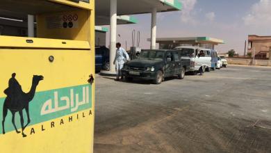 """صورة ارتياح أهالي """"بدر"""" للعمل المنظم بمحطات الوقود"""
