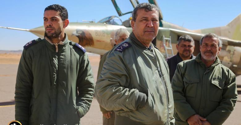آمر غرفة عمليات القوات الجوية اللواء طيار ركن محمد المنفور