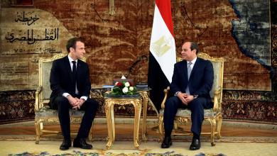Photo of اتصال ماكرون بـ السيسي لتسوية الأزمة الليبية