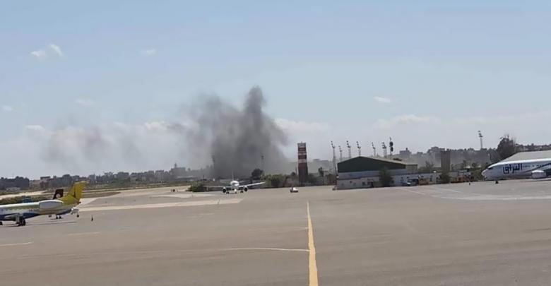 من وراء القصف المتكرر على مطار ميعيتقة الدولي ؟ الصورة- إرشيفية