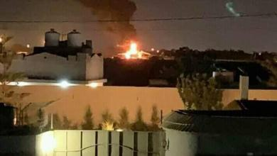 "Photo of سلاح الجو يضرب الكلية الجوية بمصراتة ""ويدمر طائرة شحن حربية"""