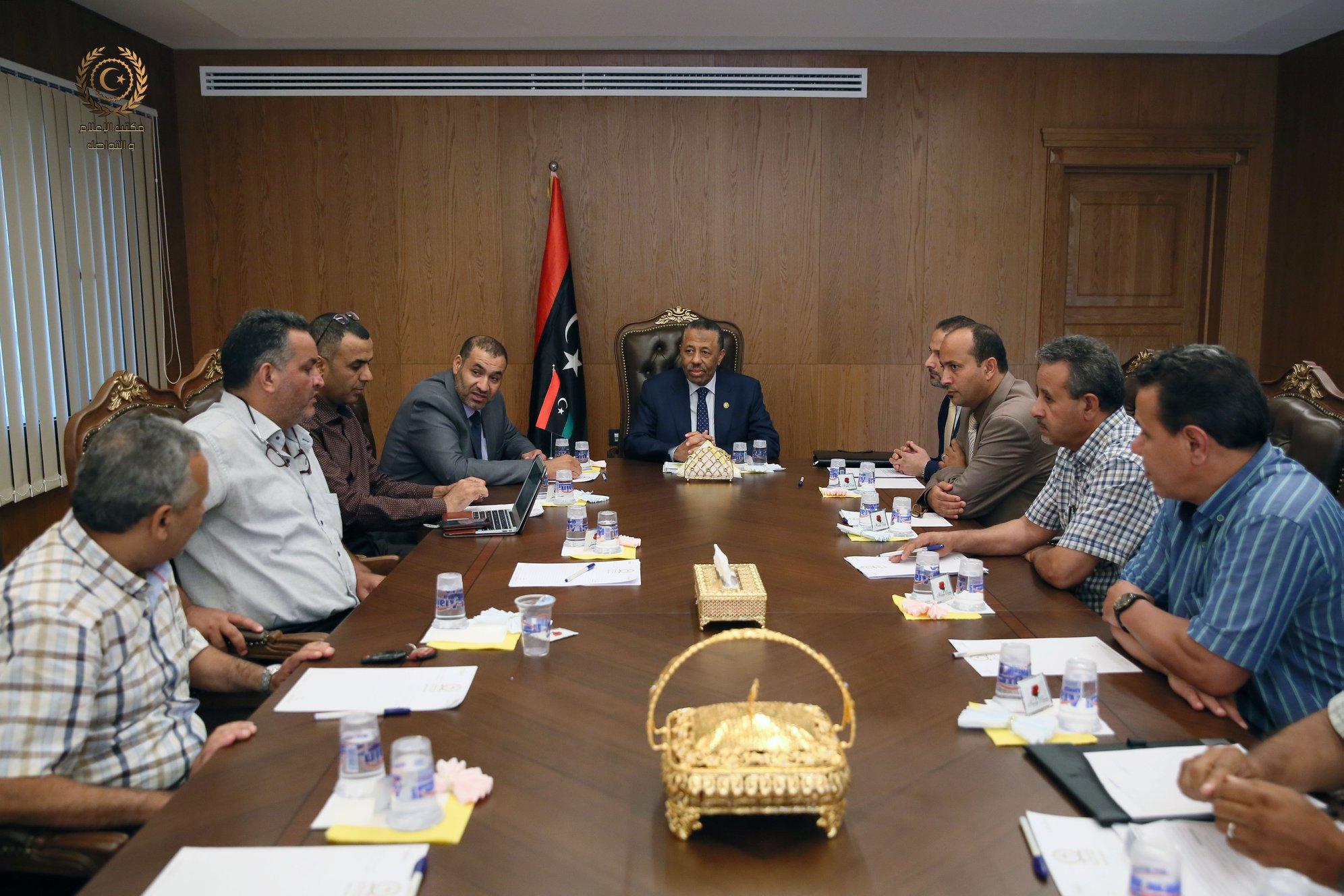 الحكومة المؤقتة تتعهد بدفع مبلغ 50 مليون دينار ليبي لدعم تطوير التعليم الطبي