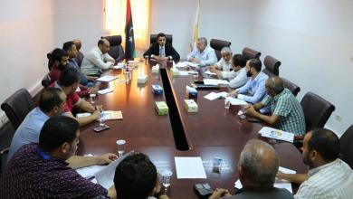 الهيئة الوطنية لمكافحة الفساد تبحث ملف الأزمة في طرابلس