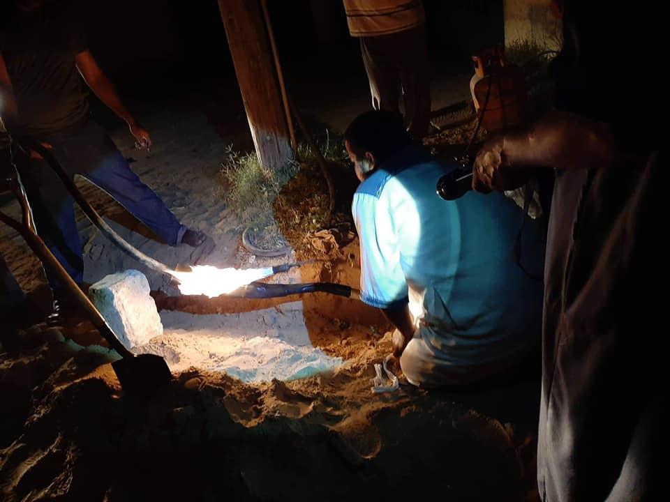 دائرة توزيع أبي عيسى توضح أسباب انقطاع الكهرباء