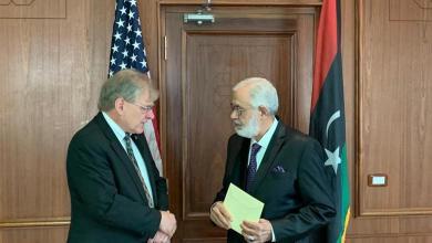 Photo of الوفاق تعتمد أوراق السفير الأمريكي لدى ليبيا في العاصمة التونسية