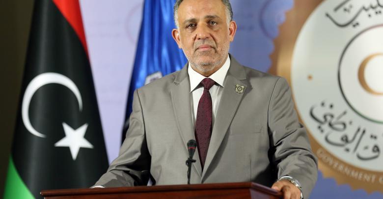 الناطق باسم وزارة الداخلية في حكومة الوفاق العميد مبروك عبدالحفيظ