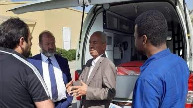 Photo of المجلس المحلي تاورغاء يستلم سيارة إسعاف مجهزة