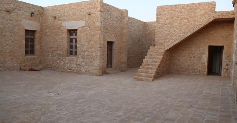 غرفة الجندي البريطاني في منطقة البردي الليبية