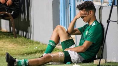صورة إصابة البدوي بسيطة.. وسيلعب أمام الرجاء المغربي
